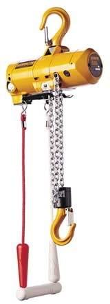 Air Chain Hoist, 500 lb. Cap, 10 ft. Lift