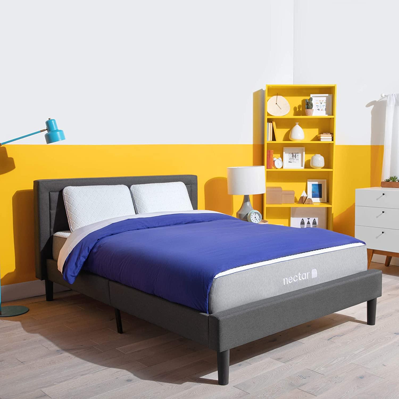 Nectar TwinXL Mattress - Gel Memory Foam Mattress - CertiPUR-US Certified Foam - Bed in a Box (NSVCTWINXL)