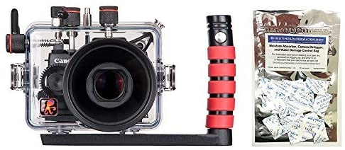 Ikelite Canon G1 X Mark II Housing w/FREE Moisture Munchers