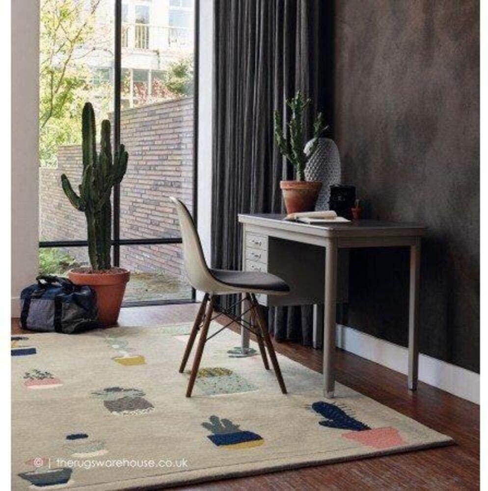 Cactus Grey Home Decor Area Rug