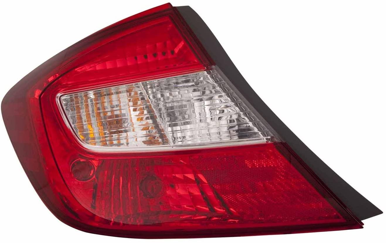 DEPO 317-1995L-AC Honda Civic Driver Side Tail Lamp Assembly