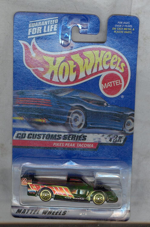 Hot Wheels 2000-030 Pikies Peak Tacoma Cd Custom Series 2 of 4 1:64 Scale