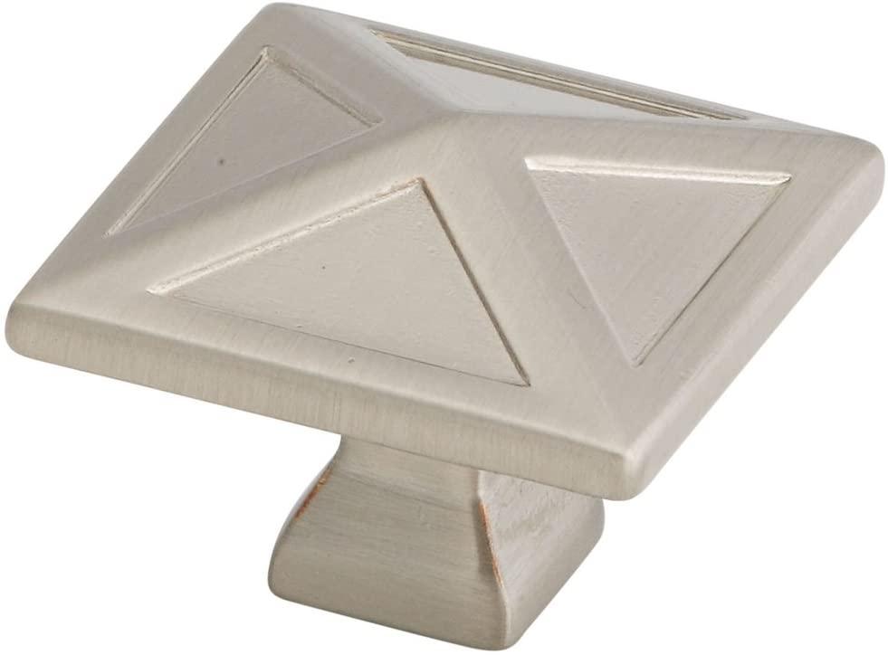 National Hardware S803-387 8050 Pinnacle Knobs in Nickel , 1.18