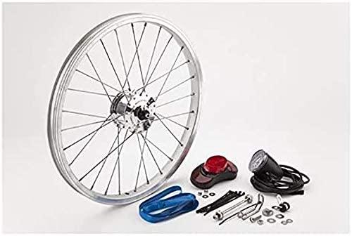 Brompton Schmidt Son hub dynamo set - including front wheel- NEW