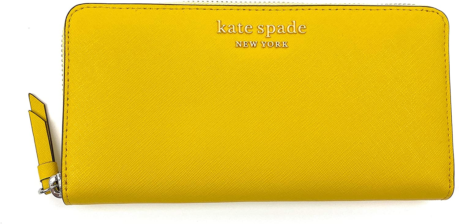 Kate Spade New York Womens Large Continental Wallet Cameron (vibrant carnation)