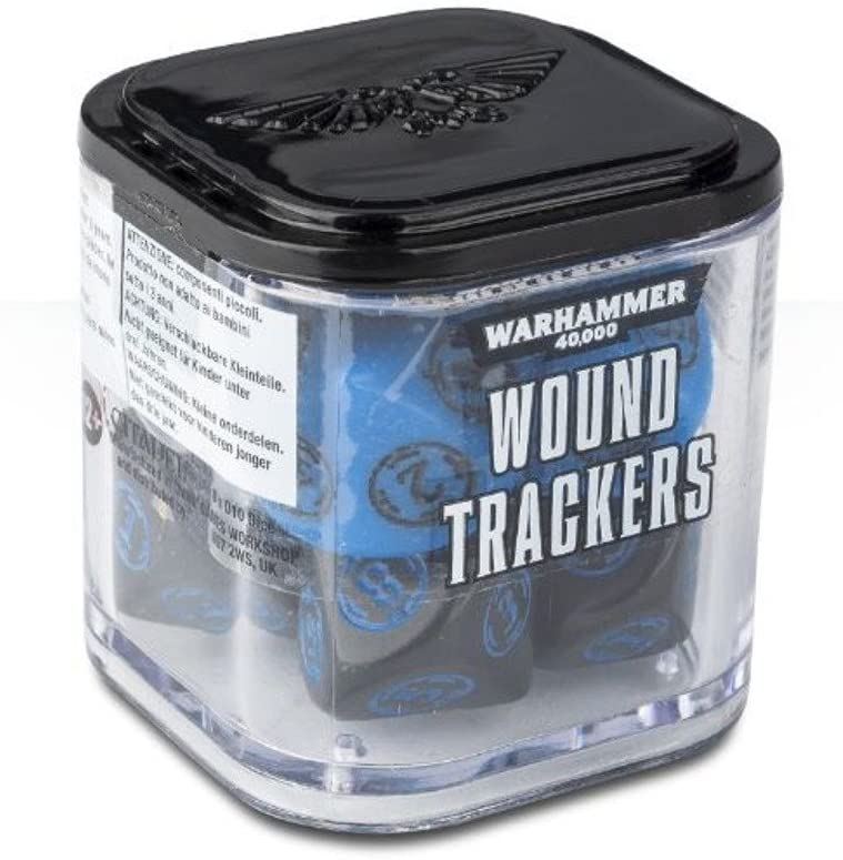 ames Workshop Wound Trackers Warhammer 40,000 (Colors May Vary)