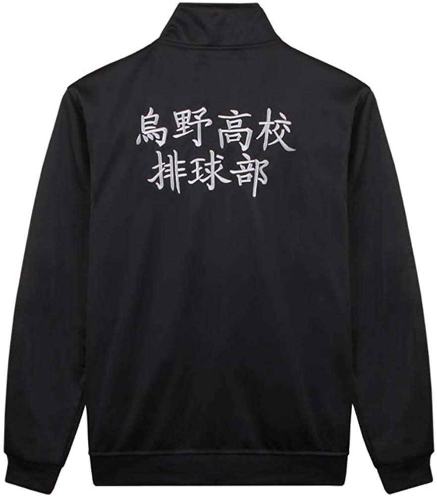 Xiao Maomi Adult Jacket Pants Shirt Uniform Windbreaker Lightweight Zipper Set Halloween Costume (Medium, Jacket)