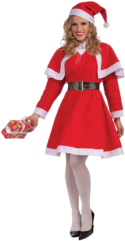 Forum Novelties Womens Miss Santa Costume
