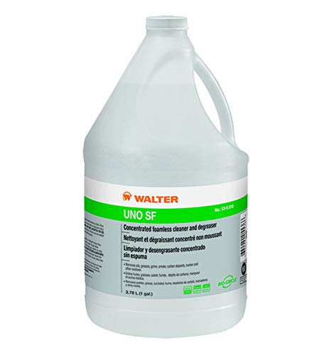 Walter Surface Technologies UNO SF HIGH Strength FOAMLESS Cleaner/DEGREASER 3.78L/1GAL