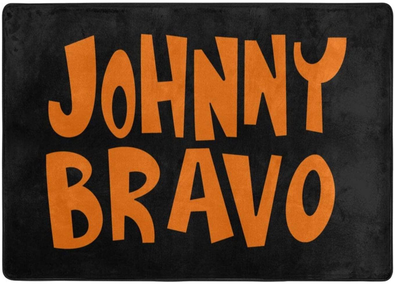 Johnny Bravo Memory Foam Non Slip Mat Living Room Bedroom Doormat 80 X 58 in