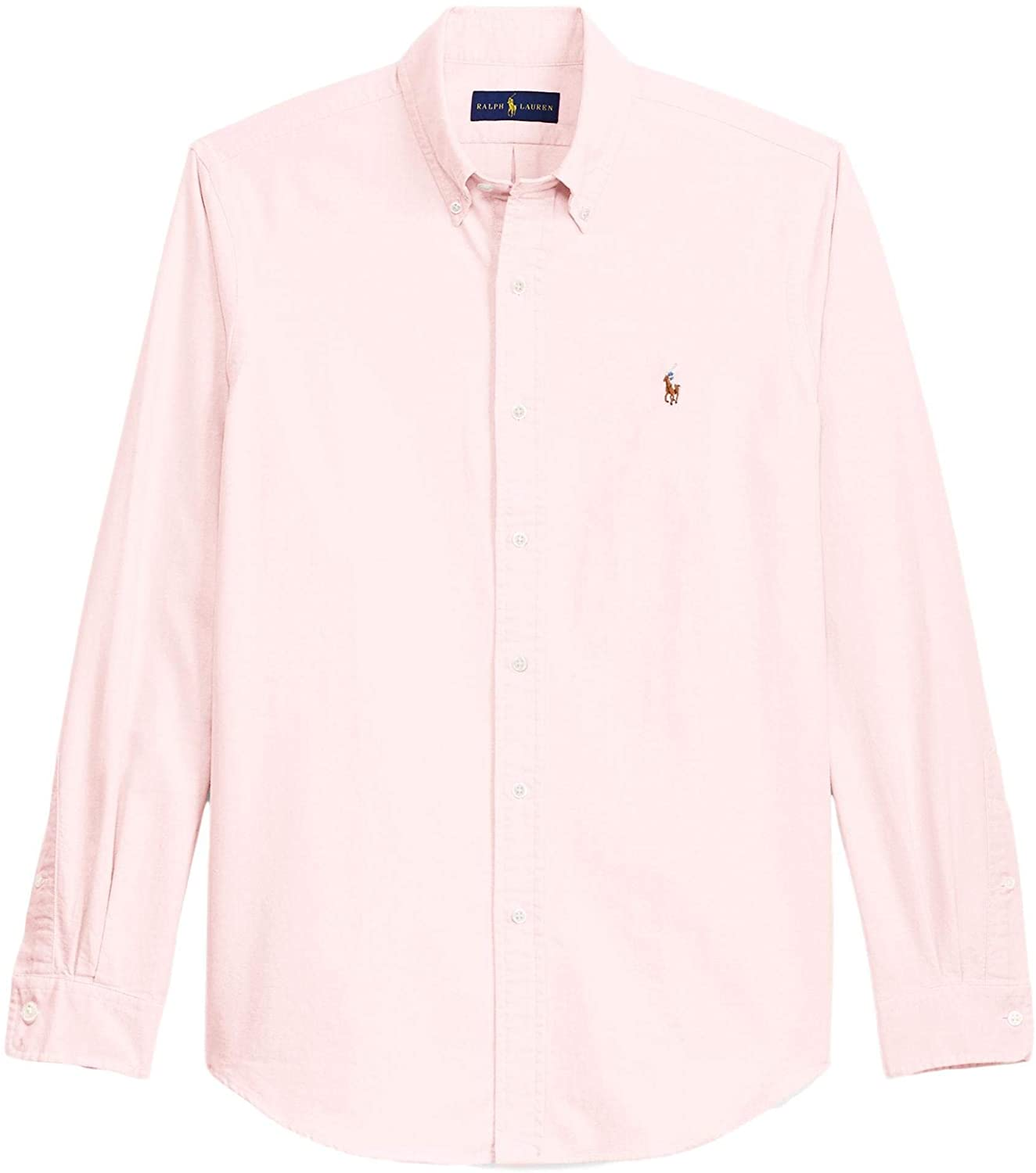 Ralph Lauren Mens Logo Button-Down Dress Shirt