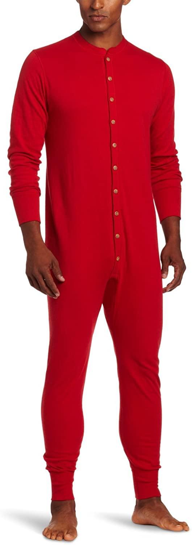 Champion Duofold Originals Wool-Blend Men's Union Suit