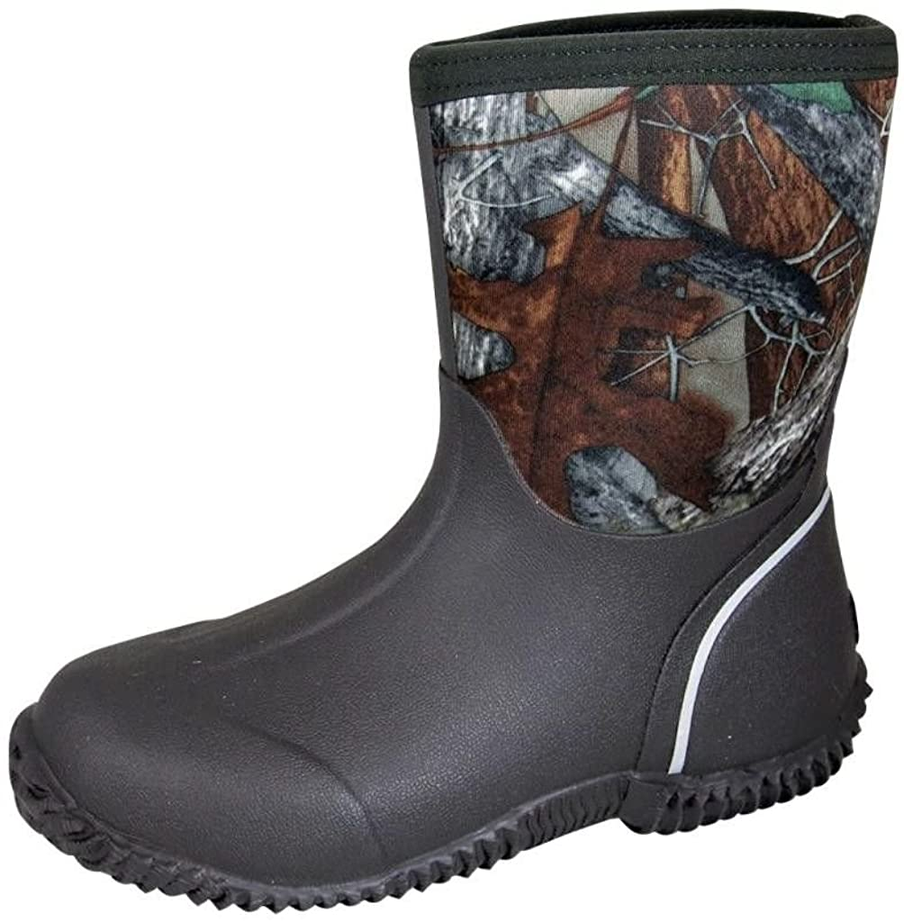 Smoky+Children%27s+Kid%27s+8%22%22+Amphibian+Boot+With+Tree+Camo