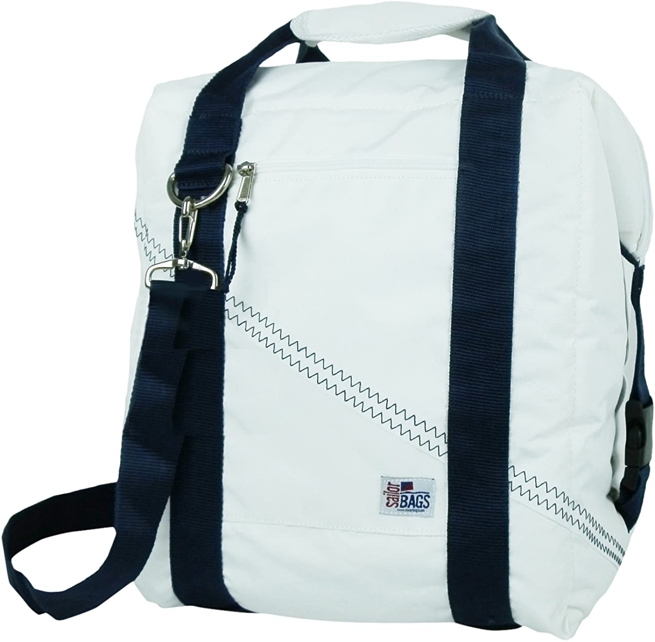 SailorBags Soft Cooler Bag with Blue Straps (24 Pack)