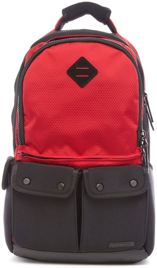 Lexdray Tokyo Pack Ltd. Packcloth Backpack - Red