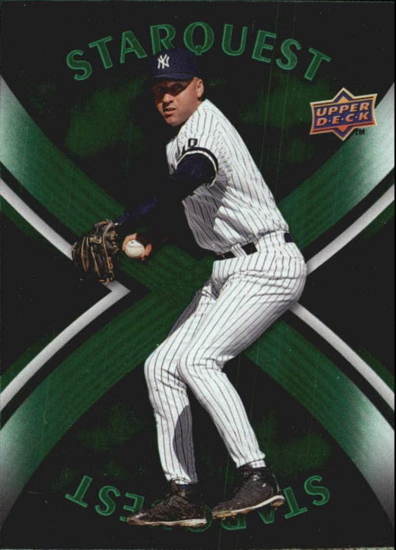 2008 Upper Deck First Edition Star Quest #SQ42 Derek Jeter NM-MT Yankees