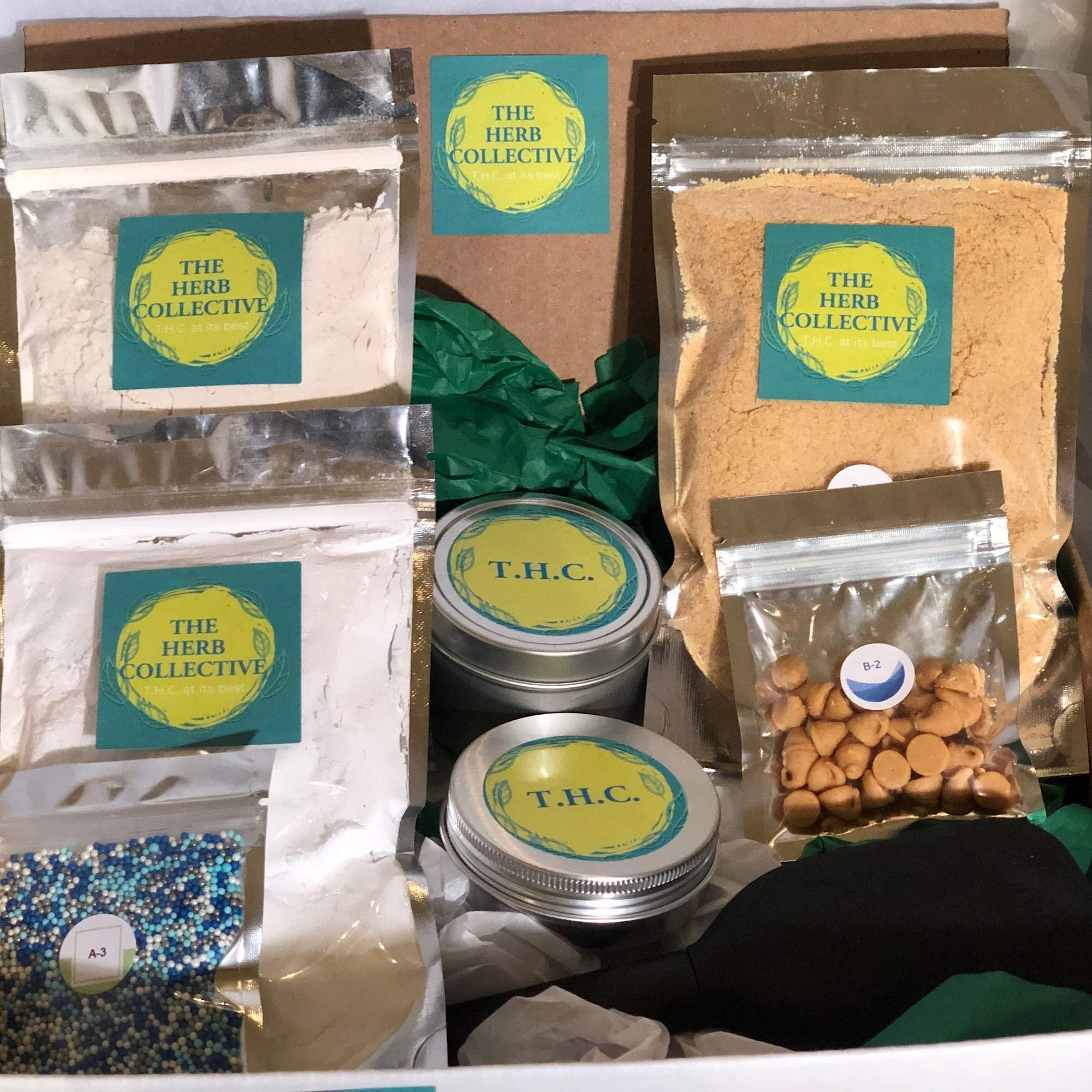 The Herb Collective homemade edibles kit subscription box - Keto