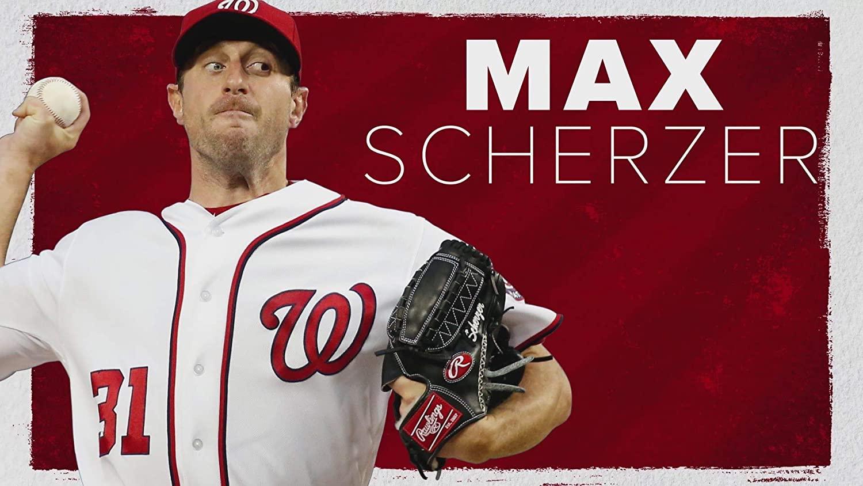 Max Scherzer Poster Print, Baseball Player, Posters for Wall, Artwork, Wall Art, Canvas Art, Max Scherzer Decor, No Frame Poster, Original Art Poster Gift Size 24 x 32 Inches
