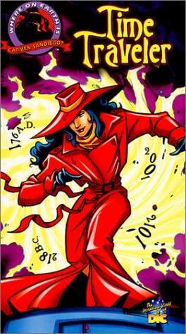 Where on Earth is Carmen Sandiego? - Time Traveler [VHS]