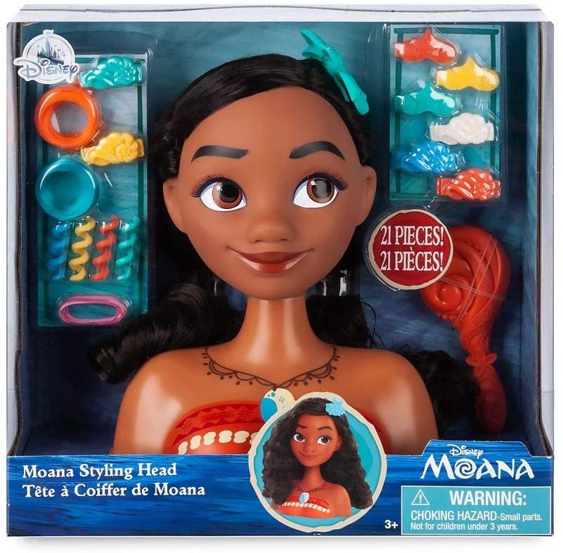 Disney Moana Styling Head 21 Pieces