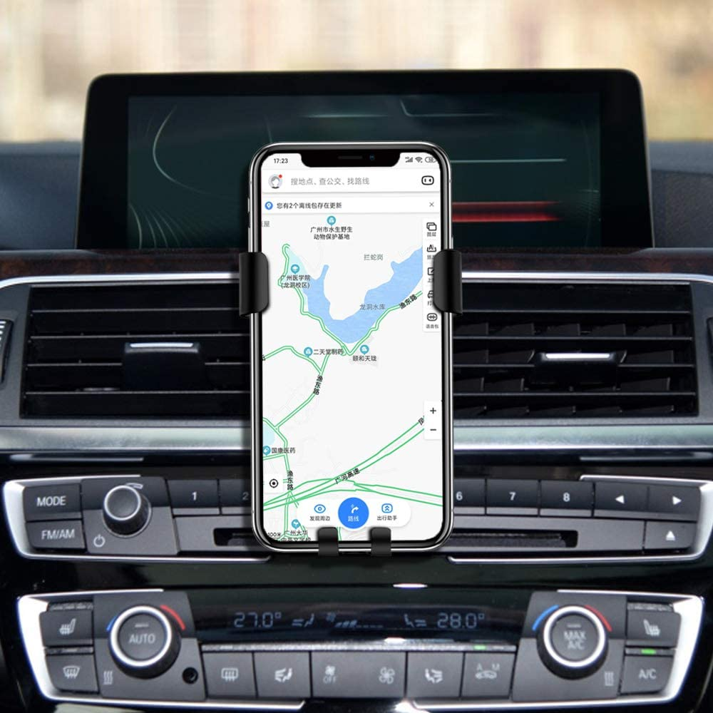 KUNGKIC Car Phone Holder Bracket Air Vent Mount for Mobile Devices Compatible with BMW G30 2016-2019 Accessories Compatible w iPhone, Samsung and More