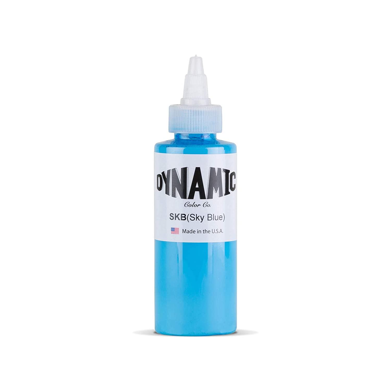 Dynamic Sky Blue Tattoo Ink Bottle 4oz