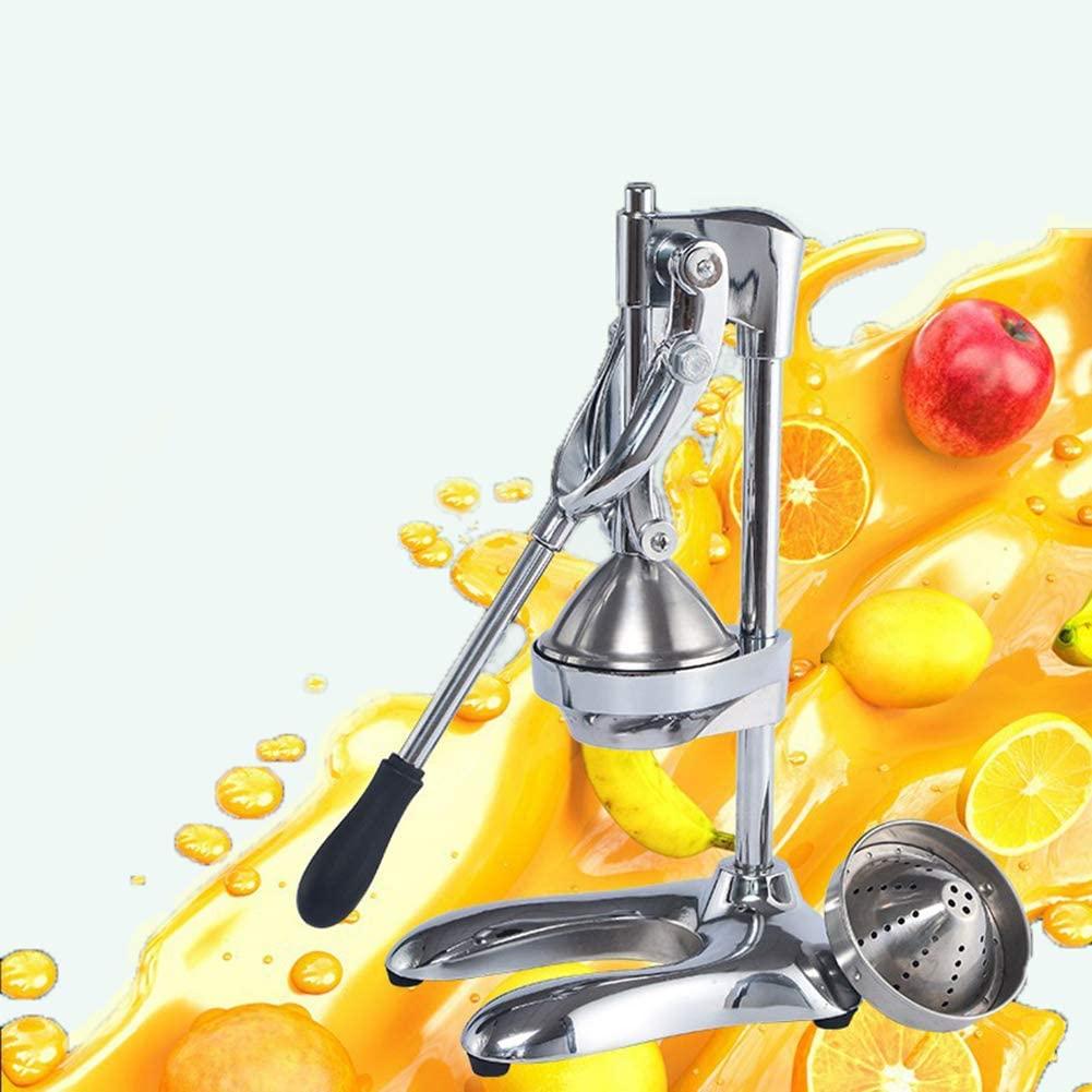 Professional Manual Juicer Cast Iron Orange Juice Extractor with Hand Press Gear Citrus Juicer 3Kg