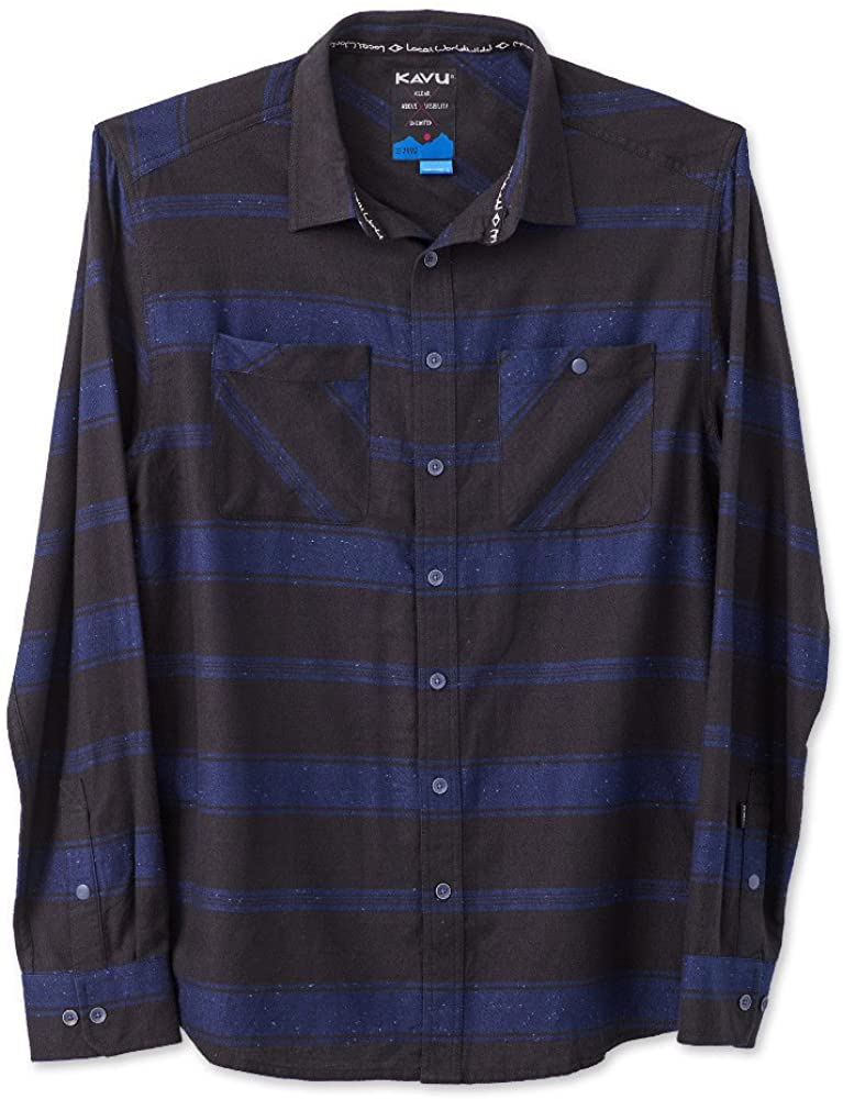 KAVU Men's Bennett Button Down Shirt